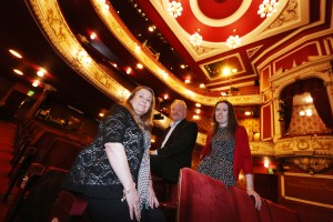 Image 2 - L-R Theatre Director Lynda Winstanley, Space Group's David Coundon and Carinna Gebhard