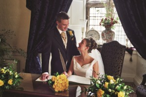 Lumley Castle bridal couple emailable