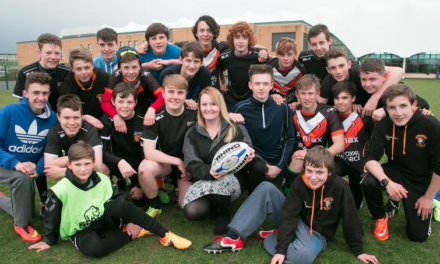 Banks Group Grant Tackles Cramlington Rockets' Equipment Needs