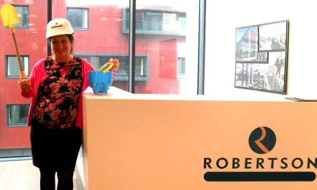 Robertson Construction Build on Support for Children North East
