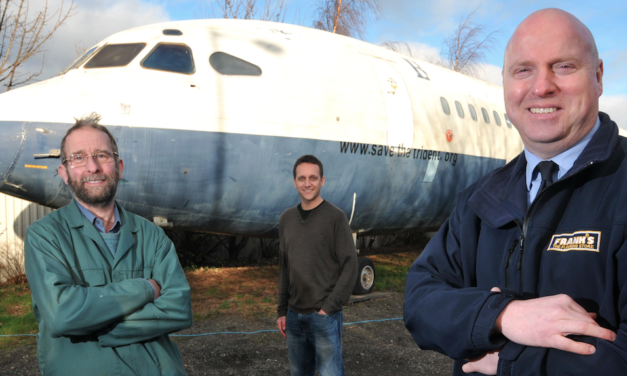 Frank's the Flooring Store Rolls out Further Support for Air Museum