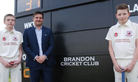 Brandon Cricketers Know the Score Thanks to Banks Group Grant