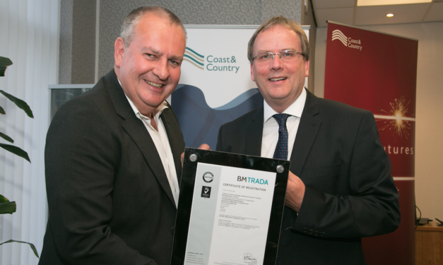Coast & Country Achieves ISO 9001