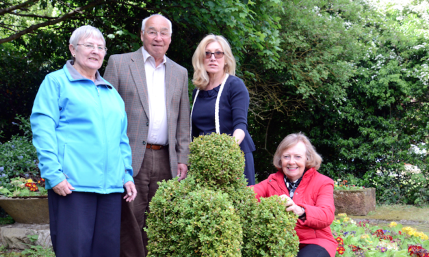 "Guisborough Peace Garden Enhanced by ""Green"" Partnership"