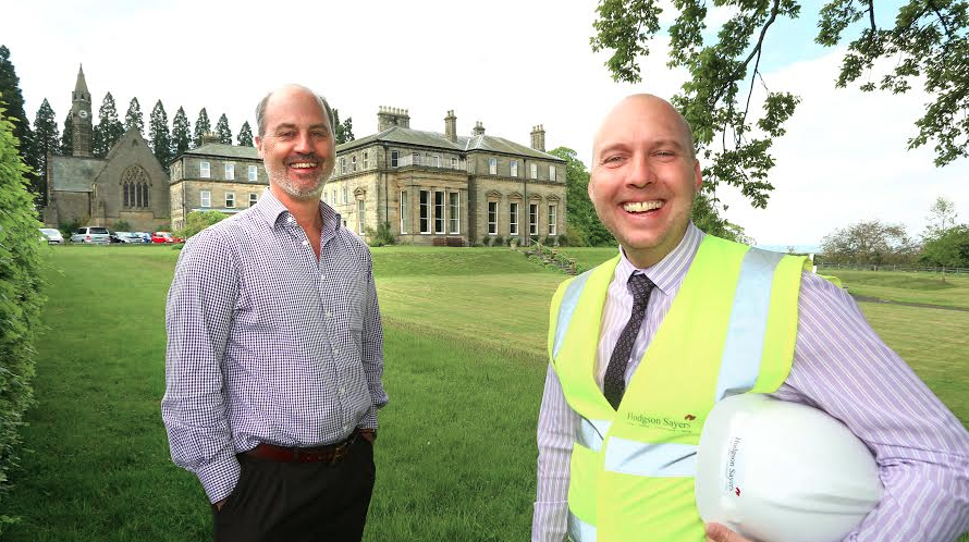Minsteracres Retreat Centre Benefits from Specialist Support