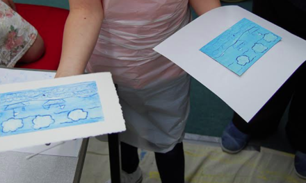 Families' River Tees Inspired Artwork Exhibited