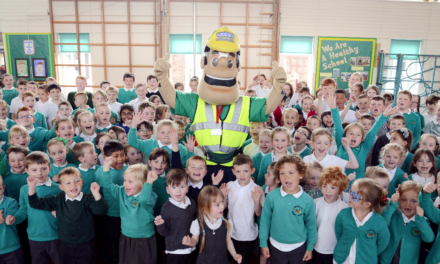 Ormesby School Children Learn about Building Site Safety