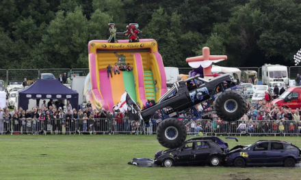 Thrills Guaranteed at Fire Engine and Vintage Vehicle Show