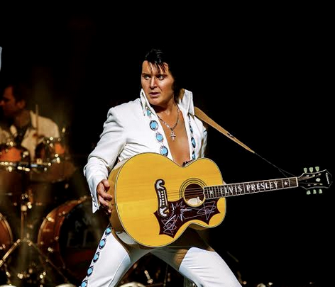 A Vision of Elvis comes to the Town Hall