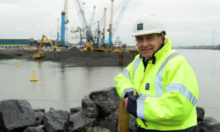 Ports and Shipping Minister Visits Port of Tyne