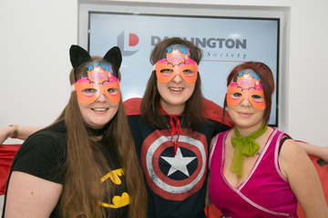 Darlington Building Society Superheroes Support TFM Cash 4 Kids