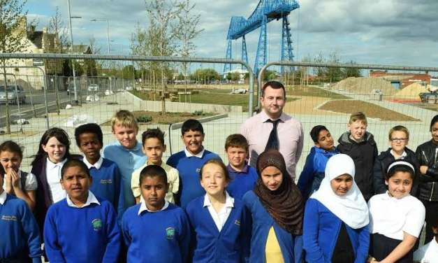 Children Challenged To Name New Middlehaven Park