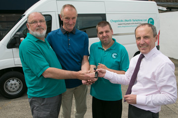 Northallerton's Chopsticks Charity Plans to Expand Services following Delivery of New Vehicle