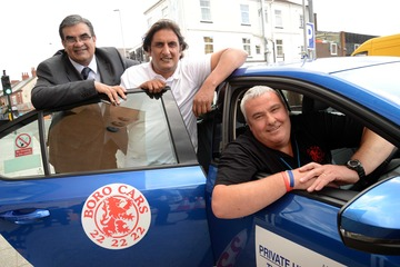 Boro Taxis Helps UK Premiere of Play Get Into Gear on Teesside