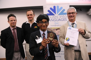 National spelling Bee Success for Yarm School Pupil