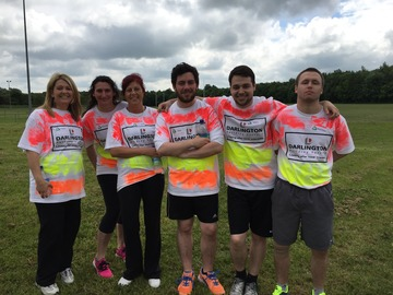 Darlington Building Society Raises £600 at It's a Knockout Competition