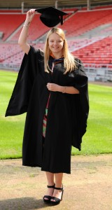Dated: 09/07/2015 Amy Laws who graduated from the University of Sunderland today with a degree in Law. See University of Sunderland Press Release ... #NorthNewsAndPictures/2daymedia