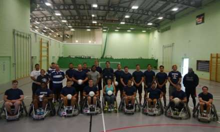 Mowden Park takes on Heroes