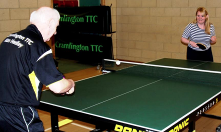 Cramlington Table Tennis Club Grant Request gets great return from the Banks Group