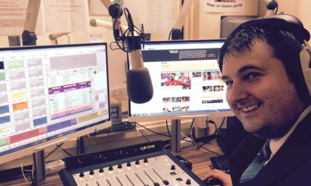NBS's Paul Swaps Cash Desk for Mixing Desk at Durham Hospitals Radio