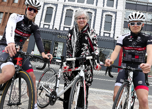 Elite Cyclists Descend on Stockton Town Centre