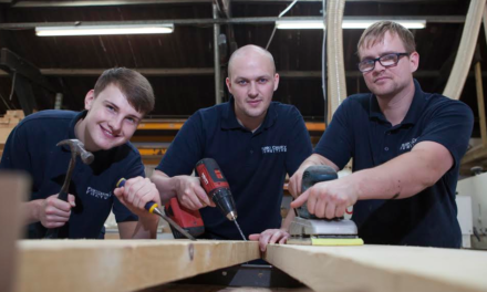 Apprenticeships Carve Business Success for Funky Chunky Furniture