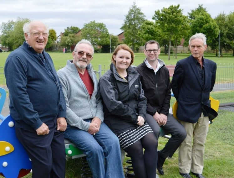 Play Time for Cramlington Kids as Horton Park Refurbishment Completes with Banks Group Support