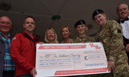 Darlington's Armed Forces Day Celebrations Raise more than £1,000