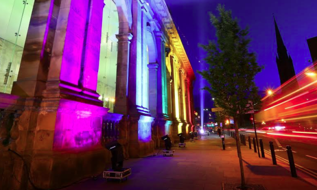 Rainbows come to the Railway for the Return of Newcastle Pride