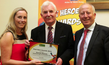 Local Middlesbrough Community Champion named as National Heat Hero