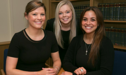 Latimer Hinks Awards Training Contracts to Graduates