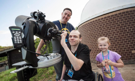Newcastle Building Society Grant to help Disabled Astronomers see the Stars
