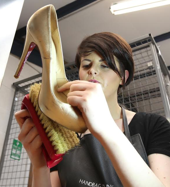 Handbag Clinic Launches New Service to restore Red Christian Louboutin Soles