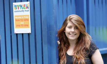 Byker Community Trust Welcomes New Apprentice