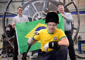 County Durham Welder goes for Gold in Brazil