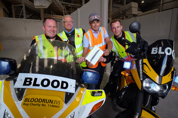 WRL Glass Media Ride to Bloodrun's Rescue