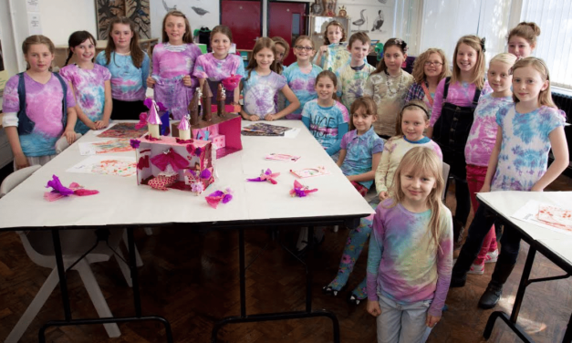 Art Classes aim to Foster Creative Talent in Young People
