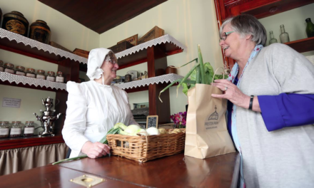 Refurbished Victorian Grocer Shop Opens for Business
