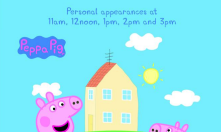 Peppa Pig and George are back on August Bank Holiday (31 August)