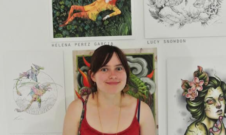 Lucy Exhibits Exceptional Talent at London Show