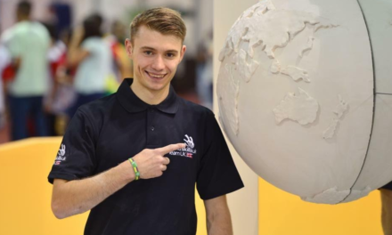 Teesside Student takes Medallion of Excellence in Brazil at Worldskills Championship