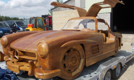 Furniture Clinic steps in to bring Wooden Super Car back to its former Glory