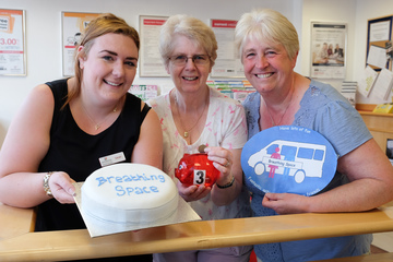 Darlington Building Society Helps Charity get some Breathing Space