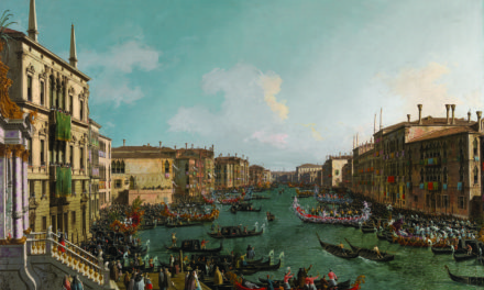 Thousands turn out to see Canaletto Masterpiece