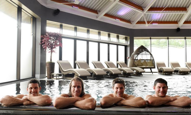 New Spa Welcomes Rugby Stars