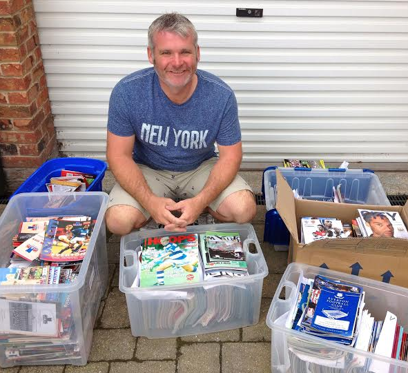 Appeal for sports programmes and memorabilia – donations welcome
