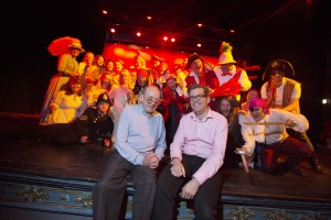 L-R Pirates of Penzance Director Jack Dixon and Musical Director Mike Wilmot, of Parkdean Holidays