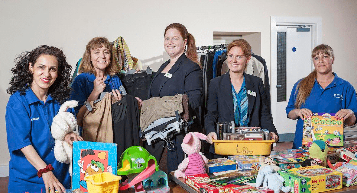 St Chad's Community Outreach Work gets £1,000 Boost from Newcastle Building Society's Gateshead Branch