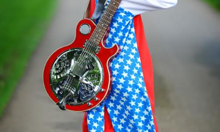 Guitar Prodigy Plays and Dresses in Unique Style