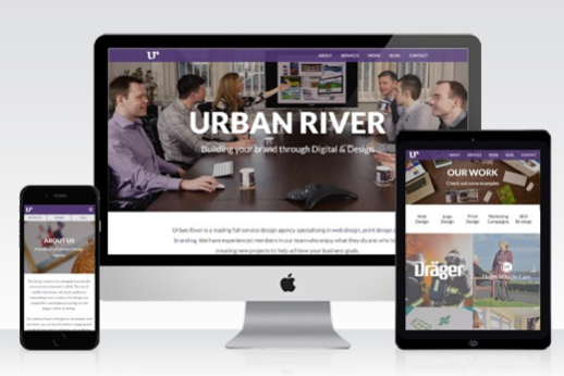 North East Design Agency Urban River Launches New Website & Refreshes Building
